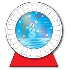 Frosty Snow Globe