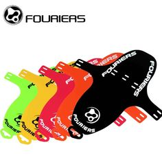 Fouriers Front Fork Fenders And Rear Saddle Rail Fender Mud Guards MTB Mudguard PP