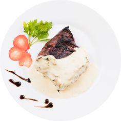 Carne – Vita – Vita Fericita Panna Cotta, Restaurant, Ethnic Recipes, Food, Dulce De Leche, Diner Restaurant, Essen, Meals, Restaurants