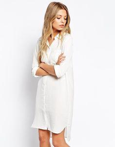 Image 1 ofVila Shirt Dress With Pocket Detail
