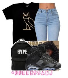 huge selection of 45781 fe9f0 by goddessanj on Polyvore featuring October s Very Own and NIKE Teen
