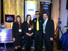 eSAX - The Entrepreneur Social Advantage Experience is an entrepreneur networking group for startups to create connections, gain knowledge from featured speakers and promote collaboration among regional Chambers of Commerce.   Featuring: Master of Ceremony Dylan Black (of boom 99.7) and Ottawa Mayor Jim Watson, West Ottawa Board of Trade, Steve Klein (CEO and Creative Director of Marketing Breakthroughs Inc.) Teresa Scrivens (Runway Networking)