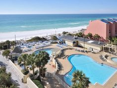 Bordering the Gulf of Mexico and a nature preserve, these Florida accommodations are less than km from Florida's Gulfarium. Guests can enjoy outdoor and indoor pools, a hot tub, and extensive tennis facilities. Fort Walton Beach Hotels, Waterville Valley, Fairfield Inn, Gulf Of Mexico, Outdoor Pool, Hotel Offers, The Good Place, Swimming Pools