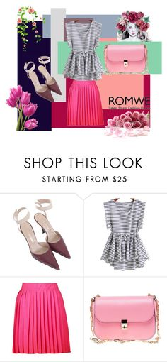 """Untitled #593"" by beautiful-723 ❤ liked on Polyvore featuring Sergio Rossi, Boohoo and Valentino"