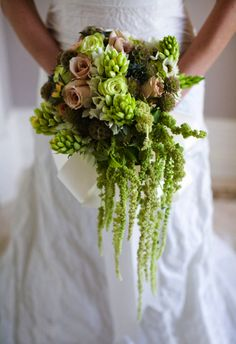 Lucky in Love: Green Bouquets » Alexan Events | Denver Wedding Planners, Colorado Wedding and Event Planning