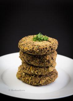 Hovkonditorn: Quinoa Lentil Burgers