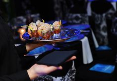 Catering by Fresh Ideas.