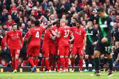 Liverpool 4-1 Stoke: Divock Origi fires second-half brace as Jurgen Klopp's side cruise to a crushing victory at Anfield