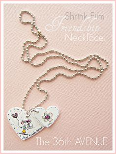 Shrink Film Friendship Necklaces. - The 36th AVENUE  