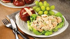 Chicken Salad is a must for any shower, graduation or family gathering. This recipe can be multiplied easily.