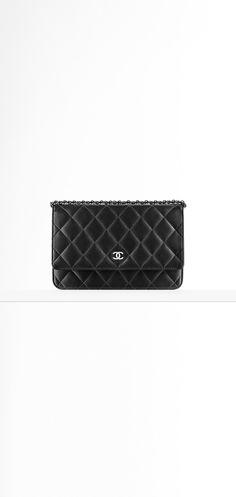 b25c27586e Small leather goods of the Classics CHANEL Fashion collection   Classic  Wallet on Chain