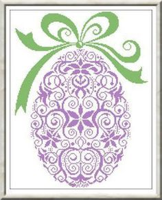 NEW 2009 Alessandra Adelaide Needleworks GARDEN EGG Counted Cross Stitch Pattern