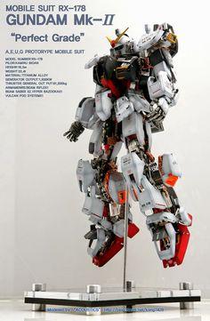 PG 1/60 Gundam Mk-II 'Open Hatch' - Custom Build