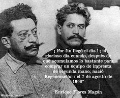 Ricardo y Enrique Flores Magón