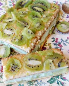 Di gotuje: Ciasto z kisielem i kiwi