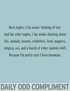 Damn insomnia...