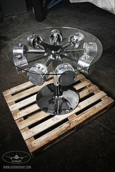 23 Awesome DIYs Made From Old Upcycled Car Parts is part of Industrial Rustic furniture Ana White - DIY Automotive Car These old car parts have actually been upcycled right into several of the most amazing as well as imaginative DIY tasks I've ever seen! Garage Furniture, Car Part Furniture, Automotive Furniture, Automotive Decor, Metal Furniture, Industrial Furniture, Handmade Furniture, Furniture Design, Modern Furniture
