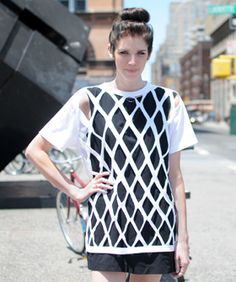#DIY cutout t-shirt tutorial from Refinery29