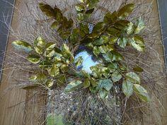 Christmas Wreath Twig Wreath Large Gold Wreath Holiday Wreath Autumn Wreath Elegant Wreath Wall Decoration Front Door Wreath