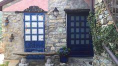#bluedoor #blueflowers #blue #liguria #italia