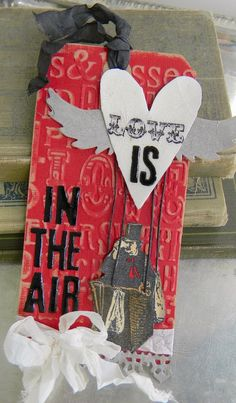 Stamptramp: Love is in the Air  by Shelly Hickox