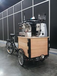 Coffee Bike by Icicle Tricycles