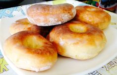 Cómo hacer Donuts caseros al horno Donut Recipes, Cookie Recipes, Dessert Recipes, Healthy Donuts, Brunch, Cheesecake, Individual Cakes, Pan Dulce, Bread Machine Recipes