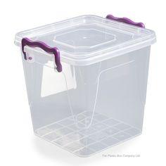 Exceptionnel 3.7lt Square Multi Plastic Storage Box [multi Box #2]