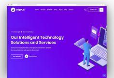 Digeco – Startup Agency WordPress Theme Intelligent Technology, Competitor Analysis, Most Popular, Wordpress Theme, Templates, Amazing, Inspiration, Hate, Stupid