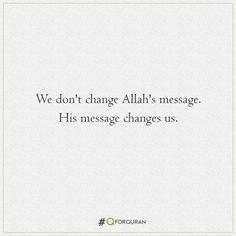 #Quran #QforQuran #QuranRecitation #AyatOfTheDay #HadithOfTheDay #HadeesOfTheDay #Sunnah #SunnahOfTheDay #Ayaah #Ayat #Hadith #Hadees #Islam #Muslims #Muslim #OneLiner #ReadQuran #Quran #MuslimWorld #QuranRecitation Dont Change, One Liner, Arabic Calligraphy, Messages, Arabic Calligraphy Art, Text Posts, Text Conversations