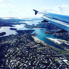 Touchdown in my favorite city  #sydney #straya #home #sydneyharbour #sydneyharbourbridge #sydneyoperahouse #australia by belindaborbely http://ift.tt/1NRMbNv