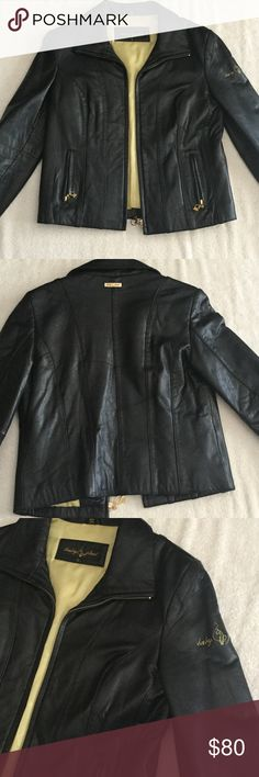 Baby Phat - Black Polyester Jacket Excellent condition. It is 23 or 24 inches long. Baby Phat Jackets & Coats