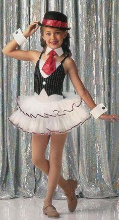 Nine to Five Ballet Tutu Dance Dress Costume NY NY Tux Tuxedo Sz Choices | eBay $36.99