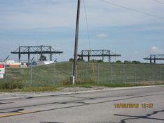 CSX container crane in North Baltimore