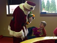 #Santa asking what this sweet boy wants for #Christmas! #KosairKid