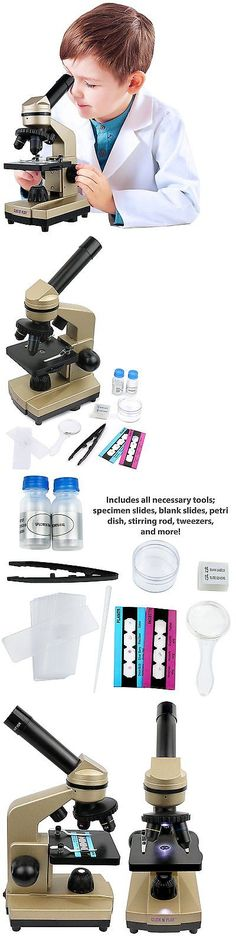 Microscopes and Chemistry 2568: Click N Play Kids Educational Science Lab Microscope Kit With Over 50 -> BUY IT NOW ONLY: $33.86 on eBay!