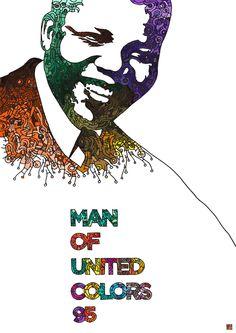 Nelson Mandela by Bibi Seck.
