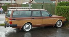 Volvo 240 Woody (some ideas don't work as well as envisioned)