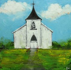 little white church - I'd like to do a pic of my home church building