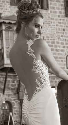 Galia Lahav Spring 2015 : La Dolce Vita Bridal Collection - #weddingdream123 #wedding