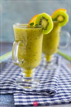 Kiwi, Easy Healthy Smoothie Recipes, Smoothie Drinks, Spanish Food, Sangria, Clean Eating Snacks, Brunch, Easy Meals, Food And Drink