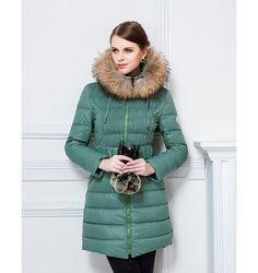 Discount Moncler manteau hiver femme capuchon fourrure officiel boutique