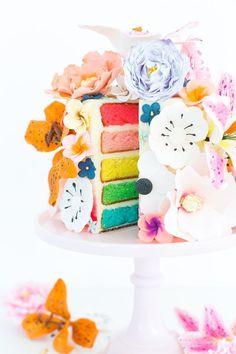 Because Why Not: A DIY Sugar Flower Cake