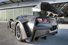 The Callaway Corvette C7 GT3-R Is Darth Vader's Racer