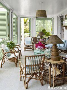 Veranda in the Bahamas