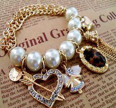 charm bracelet <3