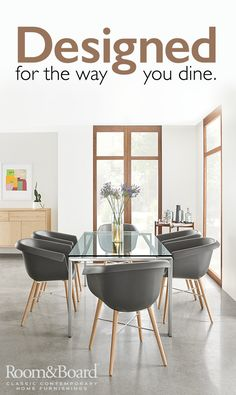A great modern dining table can become the heart of your home. That's why we make sure ours strike the perfect balance of beauty and durability. Shop our modern dining furniture today.