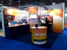 Paragon stand for the Hotelympia show in London. www.akgraphics.ie
