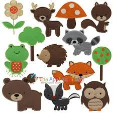 Image result for silhouettes of woodland creatures