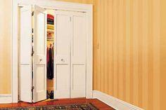 Two Panel bifold doors- bedroom option?